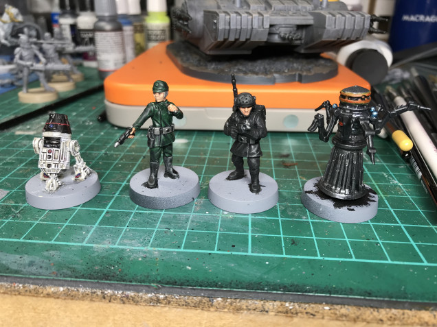 These are also complete apart from the bases