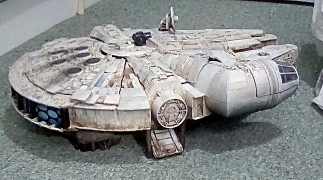Now the ship has a dirty, shadowy underside and a bit more grungy dirt ingrained on it's leading edges of the hull.