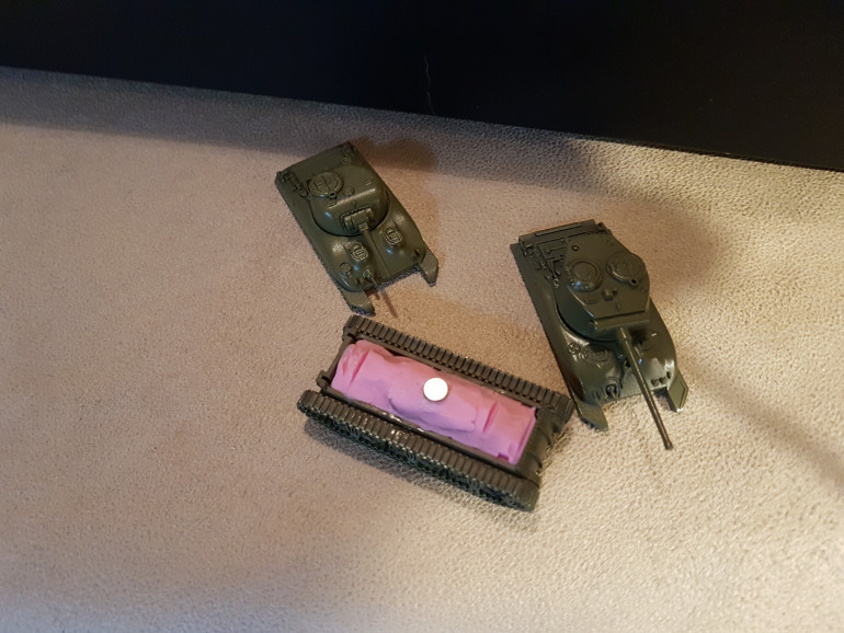 Onward with the tanks
