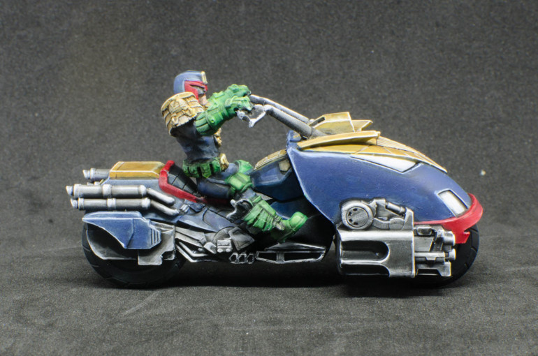 Dredd on Lawmaster