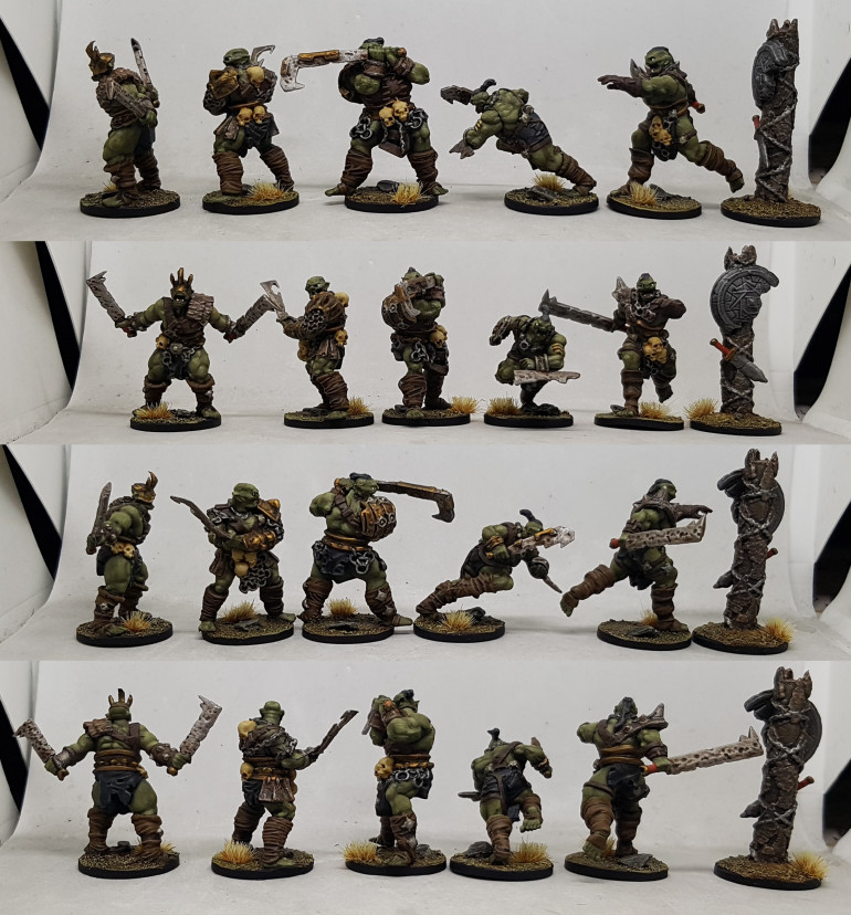 Blackjaw's Unburnt Reavers and Banner