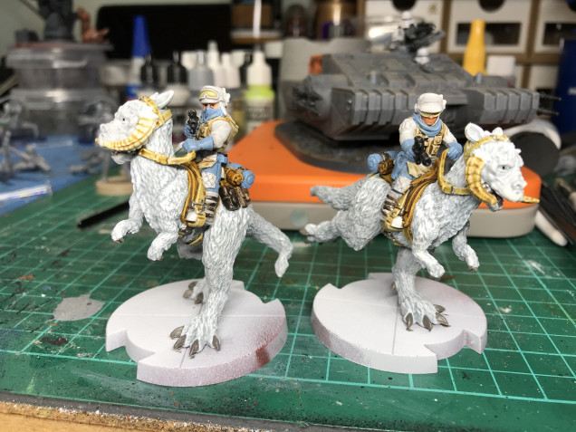 These are pretty much done apart from the bases