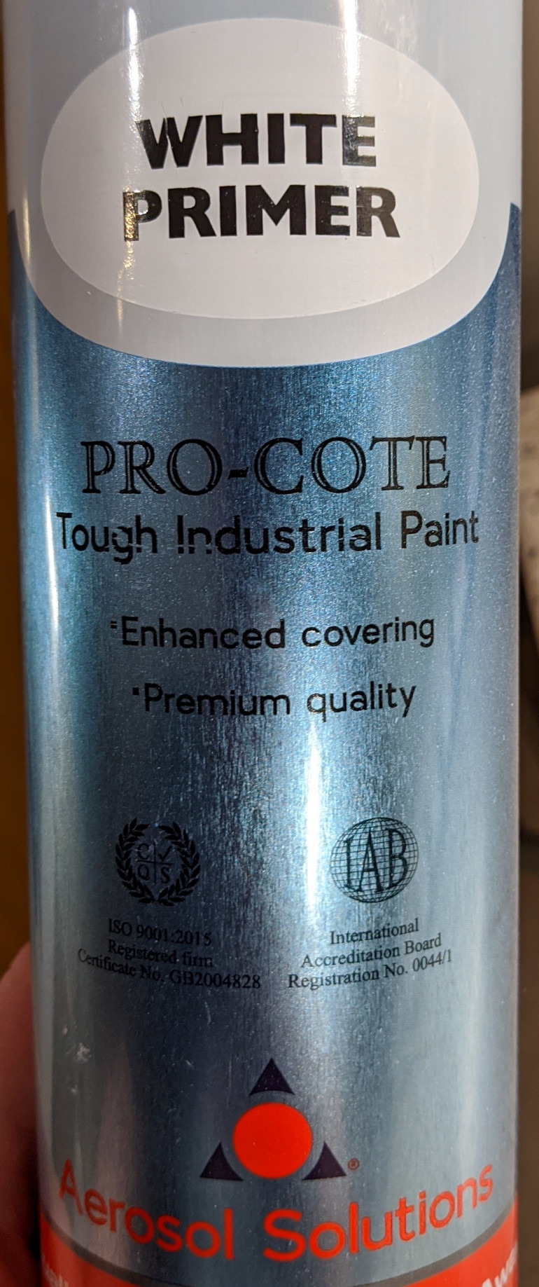 Toolstation's cheap primer - works really nicely in most conditions including cold, damp Scottish evenings in January