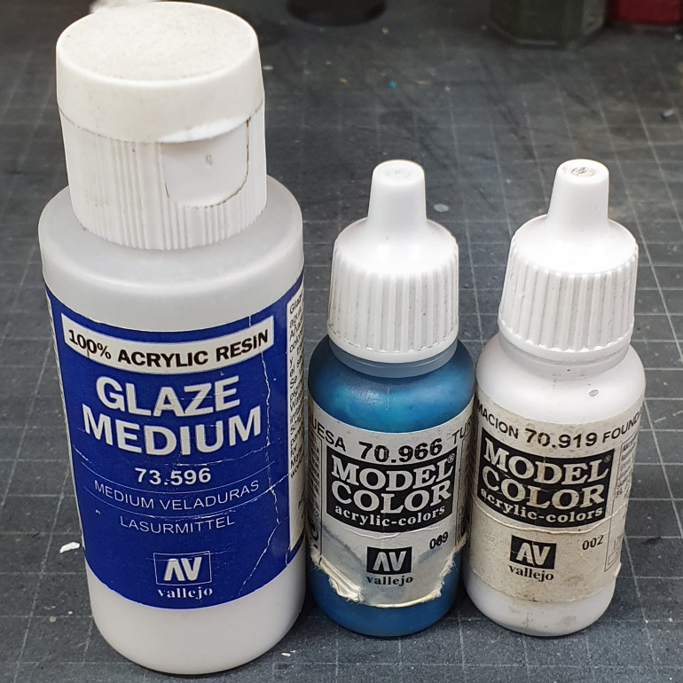 paints used for the eyes.