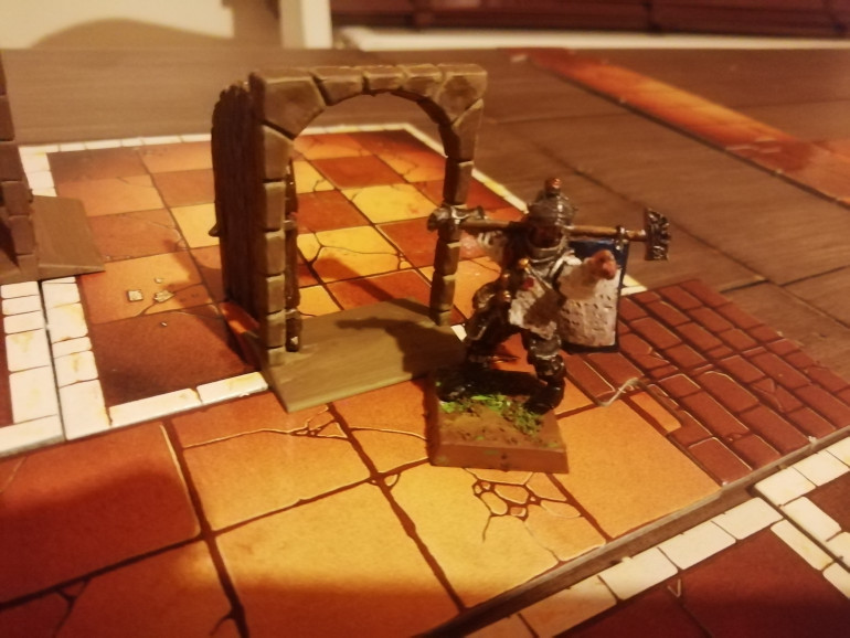After a sneaky trap and another ambush the heroes are butchered apart from Klaus the new boy who has lost all his friends. Carrying as much gold as he can he escapes to fight another day.