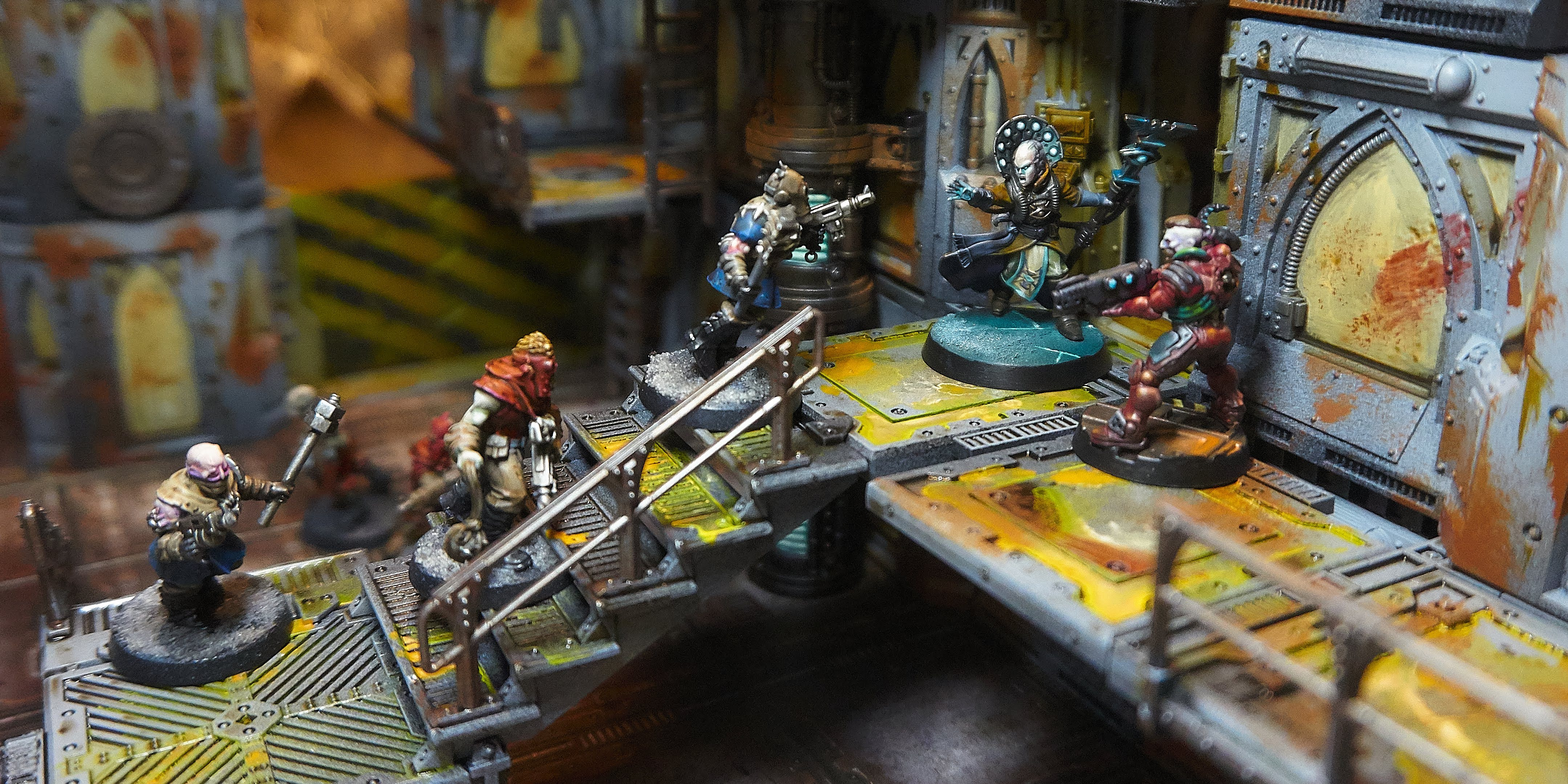 Necromunda Dark Uprising Models Terrain Kill Team