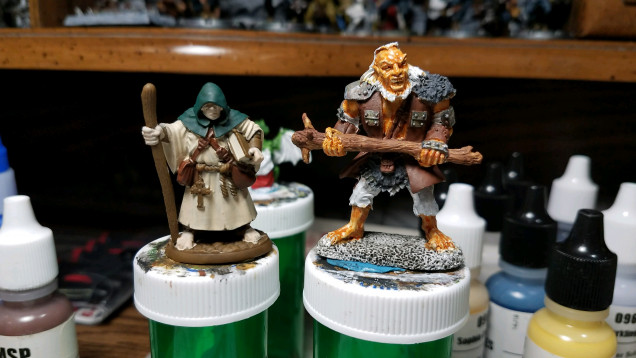 Starting with some base coats.  More to come.