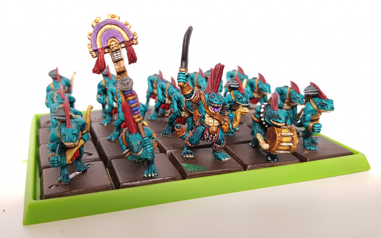 Skink unit one ready for basing