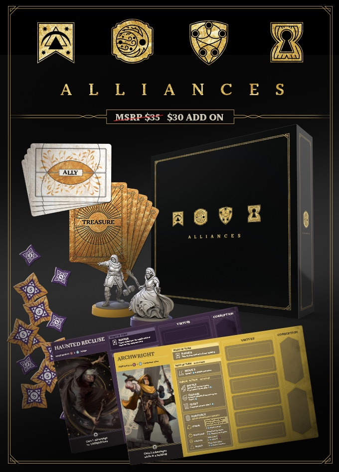 Alliances Expansion - Restoration Games