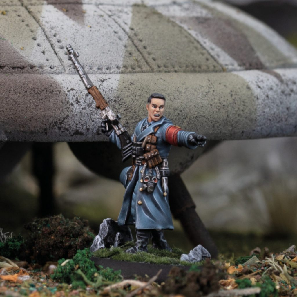 Black Sun Officer - Modiphius