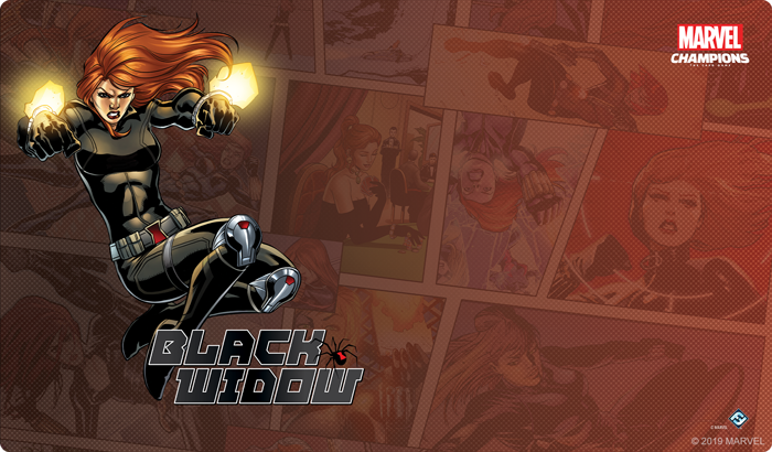 Black Widow Mat - FFG