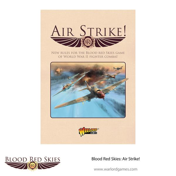 Blood Red Skies Air Strike - Warlord Games