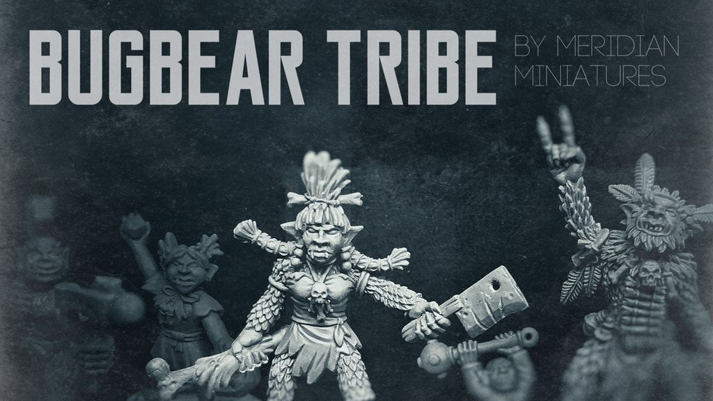 Bugbear Tribe - Meridian Miniatures