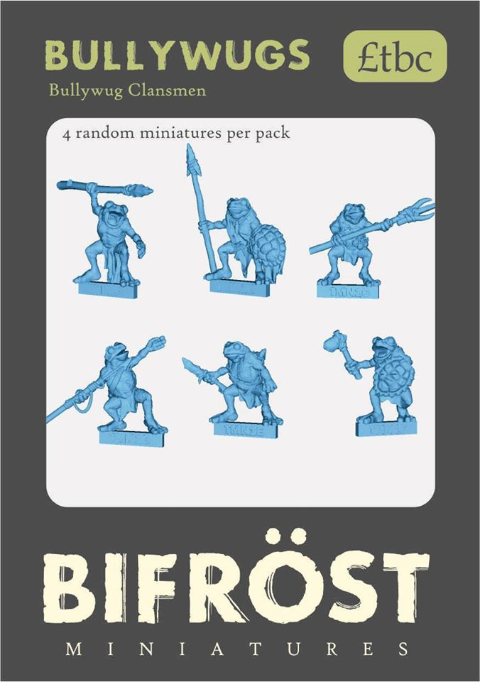 Bullywugs #1 - Bifrost Miniatures