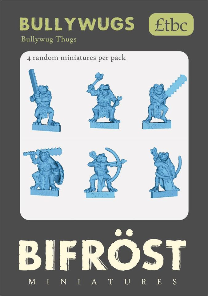 Bullywugs #2 - Bifrost Miniatures