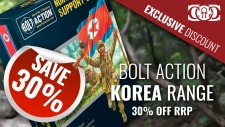 COG DEAL: Bolt Action: Korea 30% OFF RRP (This Weekend)
