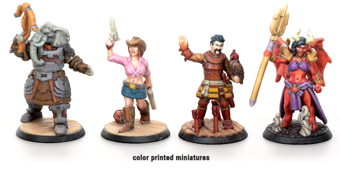 Colour Printed Miniatures - Hero Forge