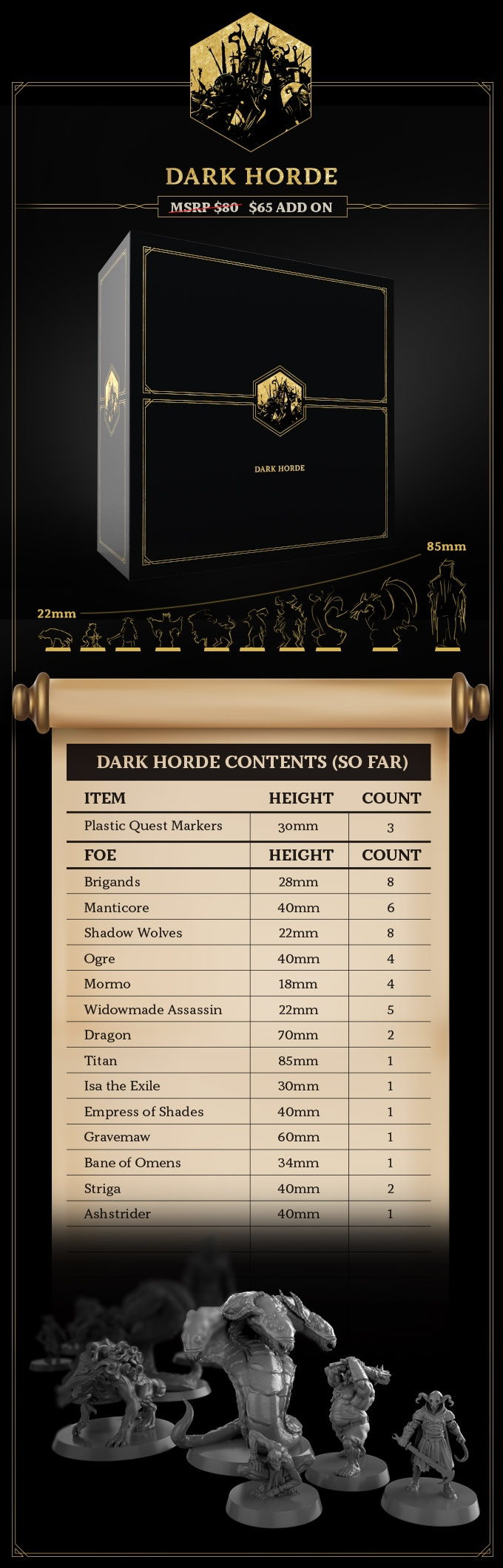 Dark Horde Expansion - Restoration Games