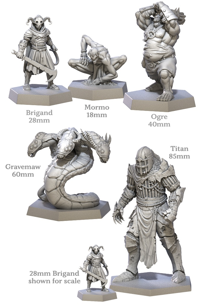 Dark Tower Miniatures Preview - Restoration Games