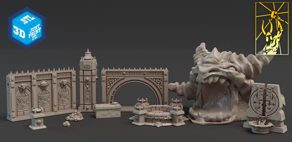 Demonic Kingdoms Terrain - Titan-Forge