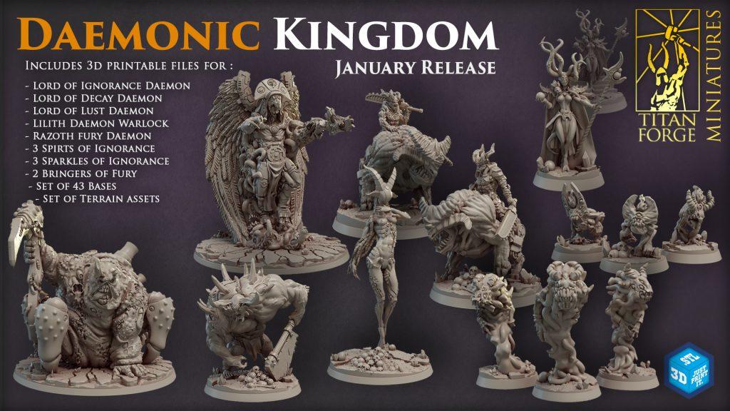 Demonic Kingdoms - Titan-Forge