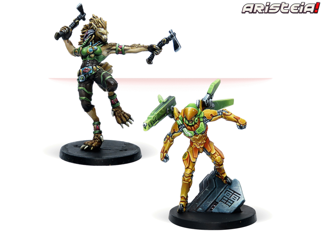 Double Trouble Painted - Aristeia