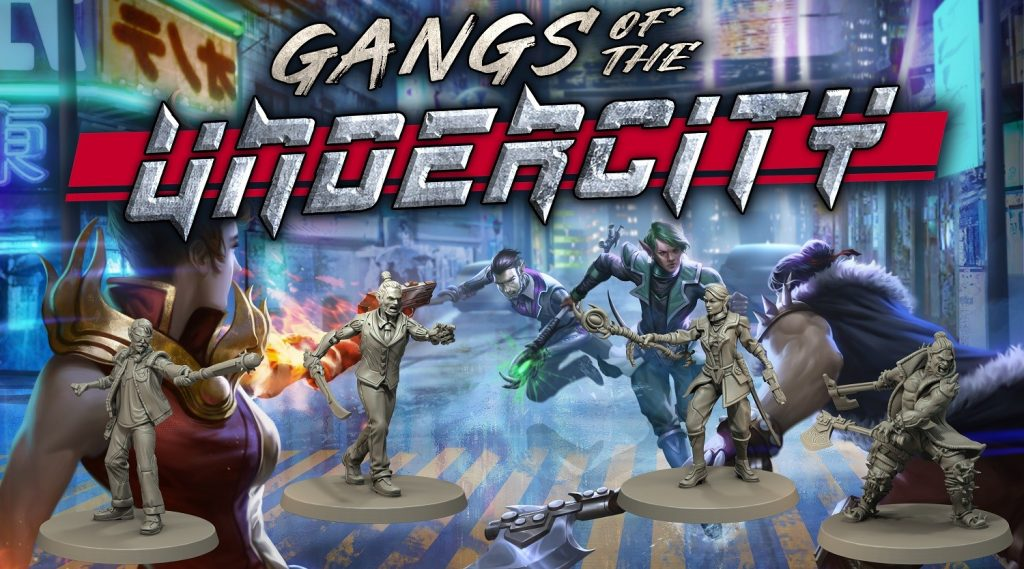 Gangs Of The Undercity - Fragging Unicorns Games