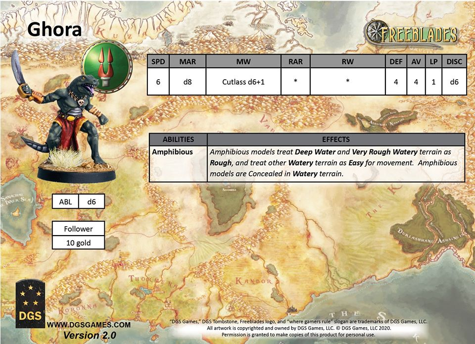 Ghora Rules - DGS Games