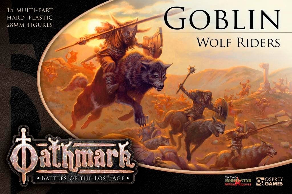 Goblin Wolf Riders Artwork - North Star Military Figures