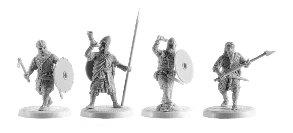 Harald Hardrada King Of Norway #1 - V&V Miniatures