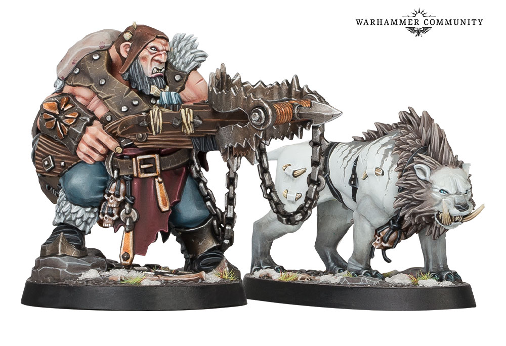 Hrothgorns Mantrappers - Age Of Sigmar