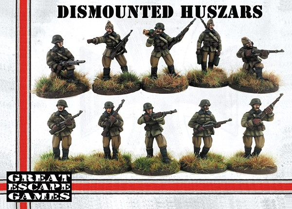 Hungarian Dismounted Huszar Troop - Great Escape Games