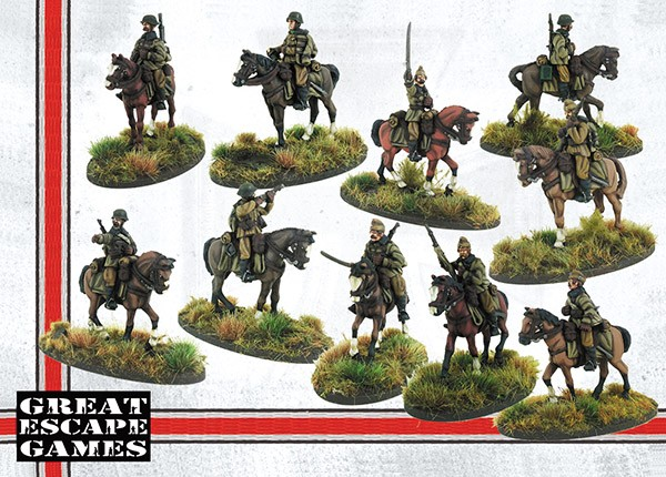 Hungarian Mounted Huszar Troop - Great Escape Games