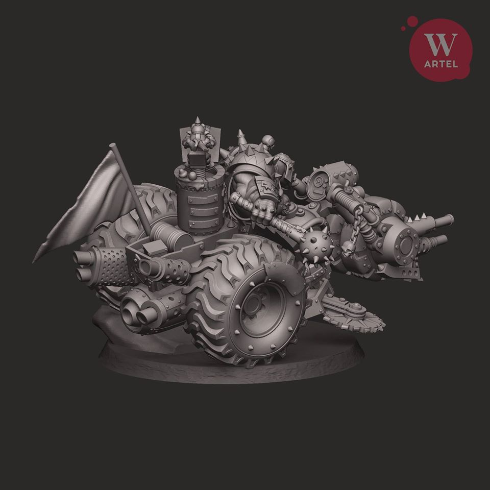 Iron Khan Alt - Artel W Miniatures