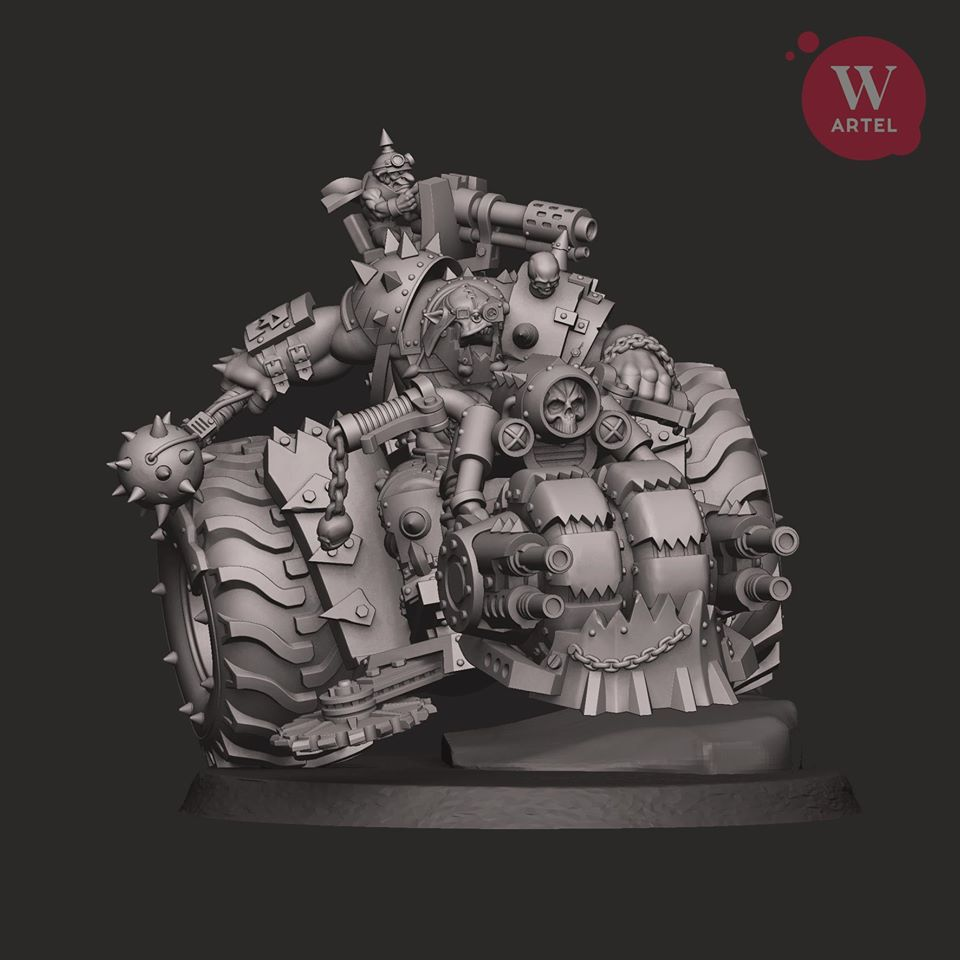 Iron Khan - Artel W Miniatures