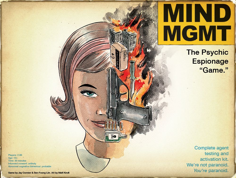 Mind MGMT - Off The Page Games