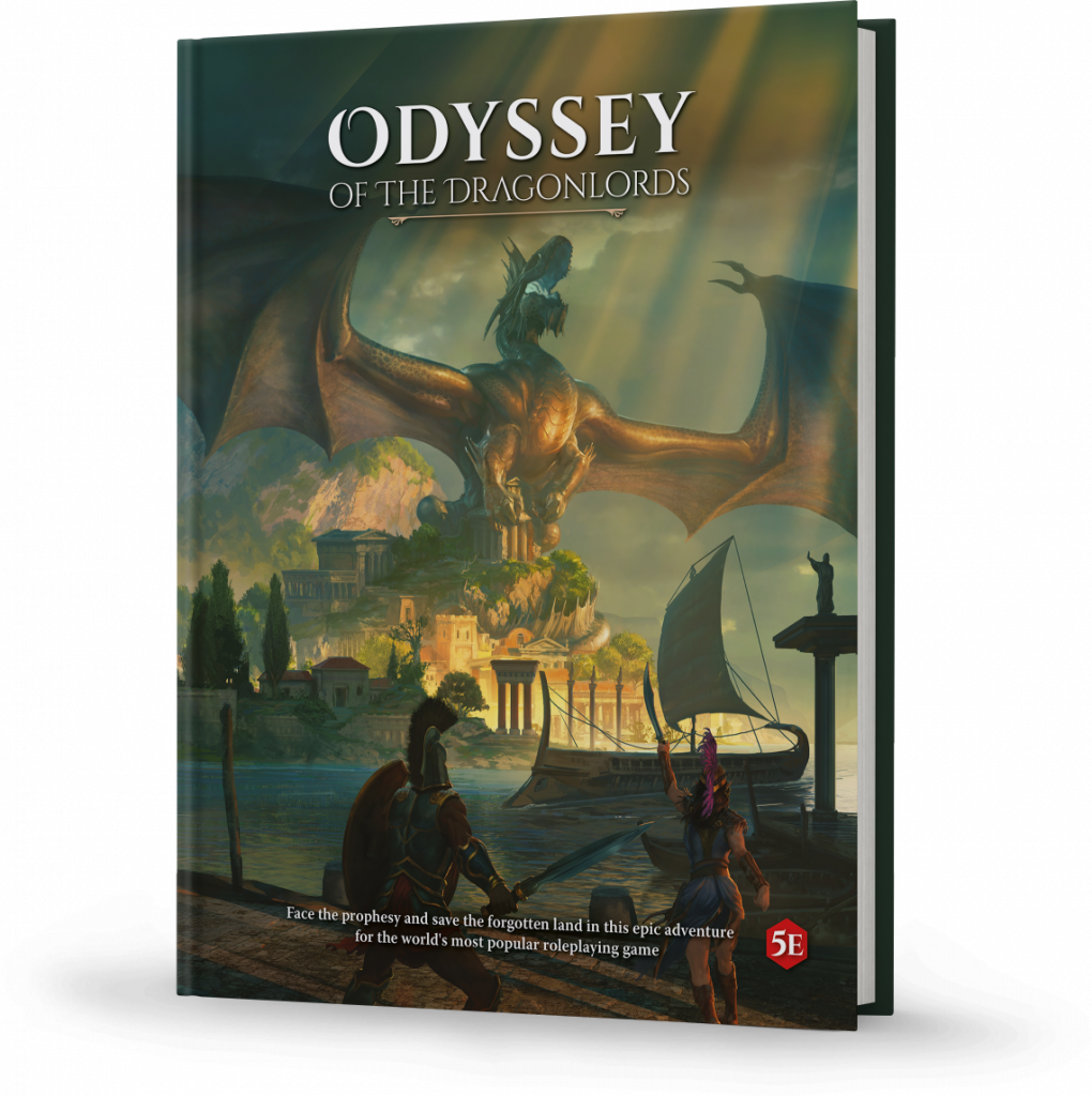 Odyssey Of The Dragonlords Adventure Book - Modiphius