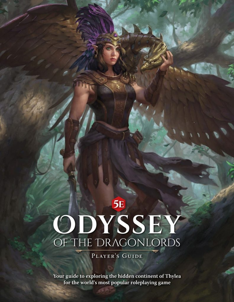 Odyssey Of The Dragonlords Players Guide - Modiphius