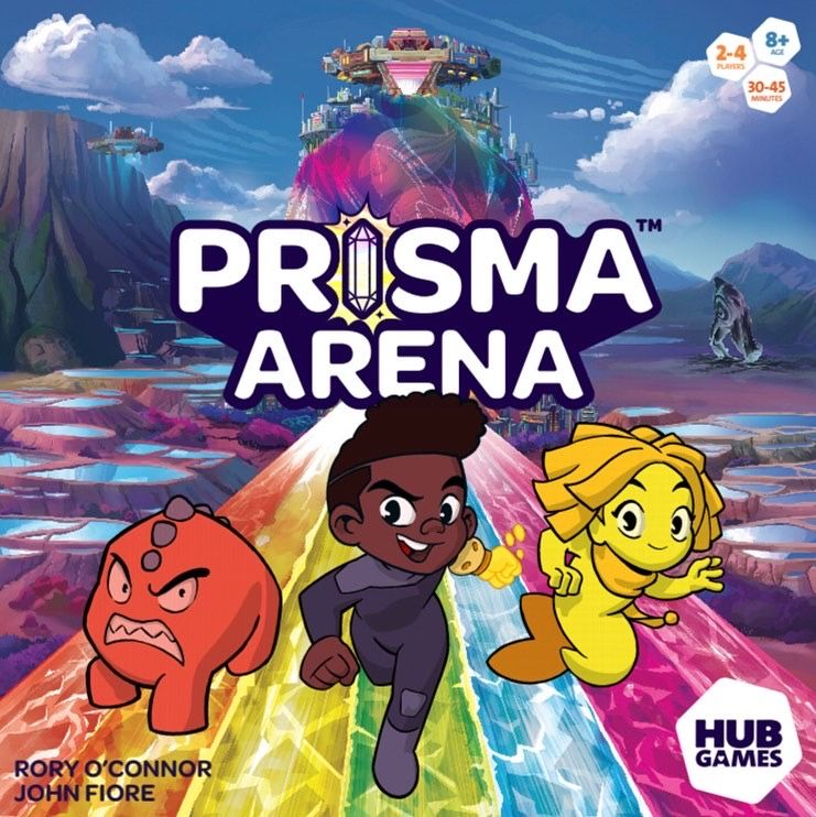 Prisma Area Box Image - Hub Games