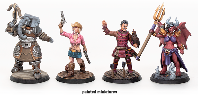 Professionally Painted Miniatures - Hero Forge
