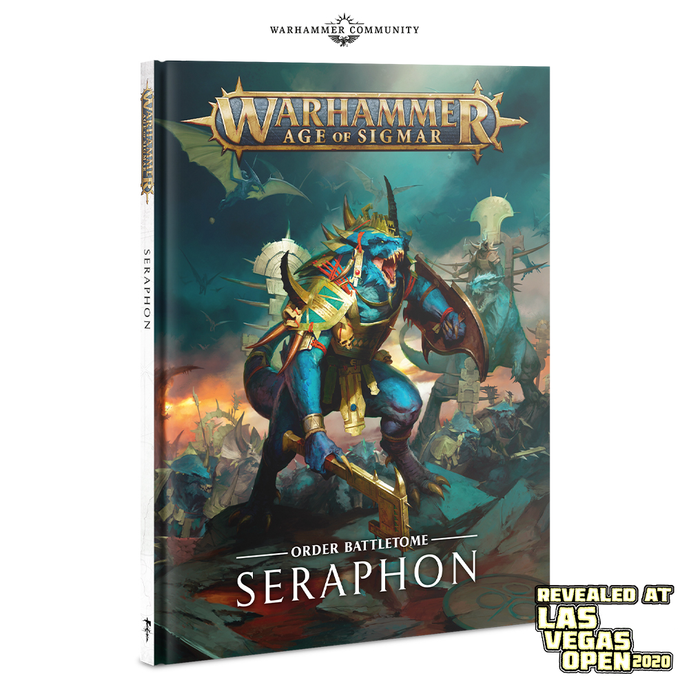 Seraphon Battletome - Age Of Sigmar