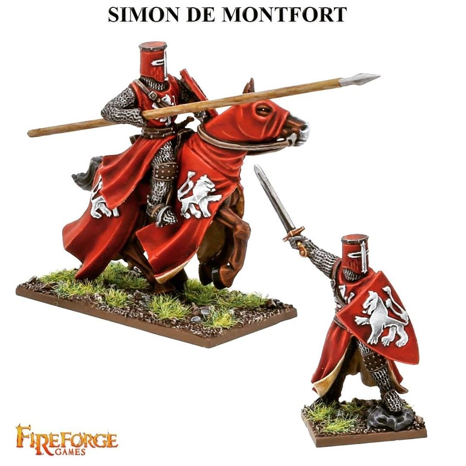Simon De Montfort - Fireforge Games