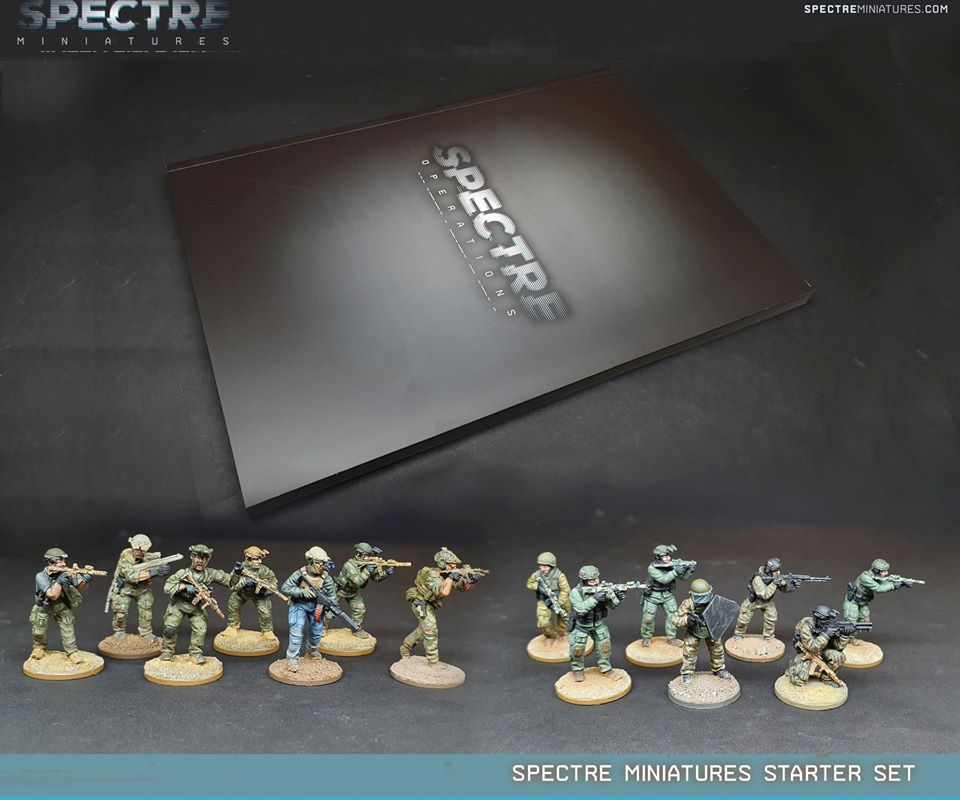 Spectre Operations Starter Set - Spectre Miniatures
