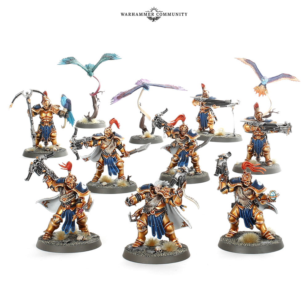 Stormcast Eternals Warband - Age Of Sigmar