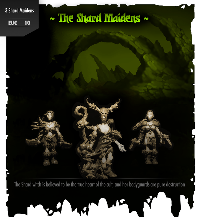 The Shard Maidens - Mattes Miniatures