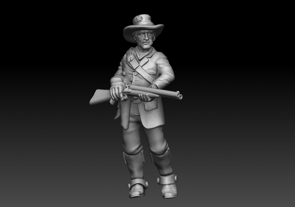The Young Posse #2 - Knuckleduster Miniatures