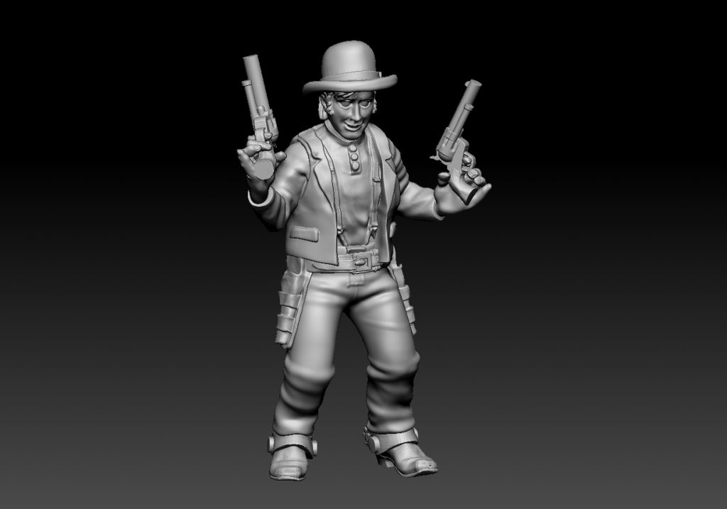 The Young Posse #3 - Knuckleduster Miniatures