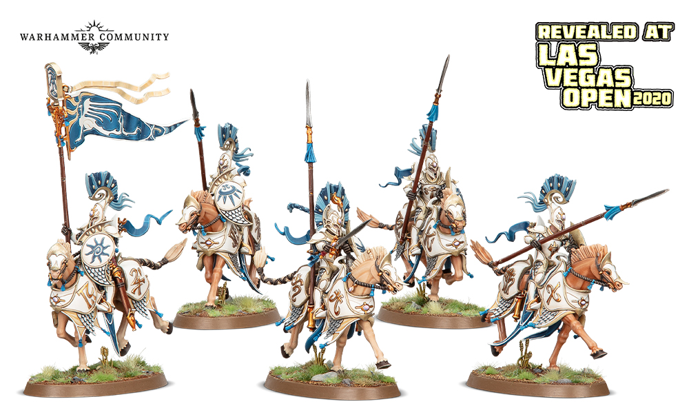 Vanari Dawnriders - Age Of Sigmar
