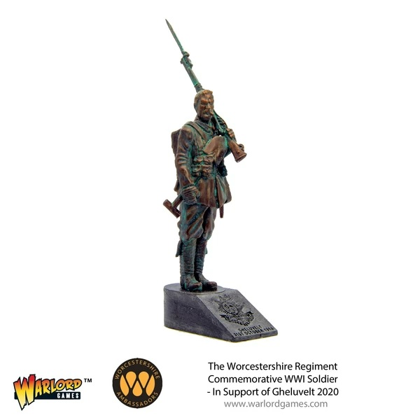 Worcestershire Regiment Commemorative WWI Soldier - Warlord Games