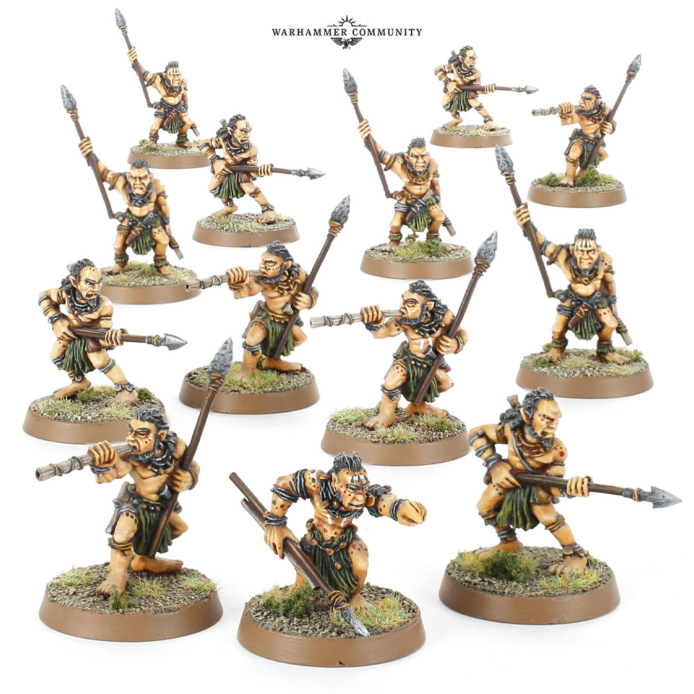 Woses Warriors - Middle-earth SBG
